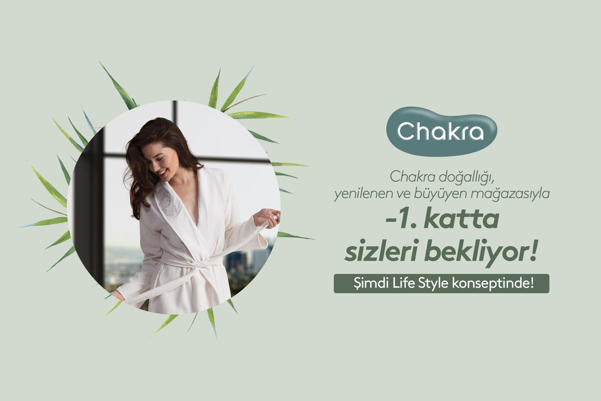 Chakra is waiting for you at -1 Floor!