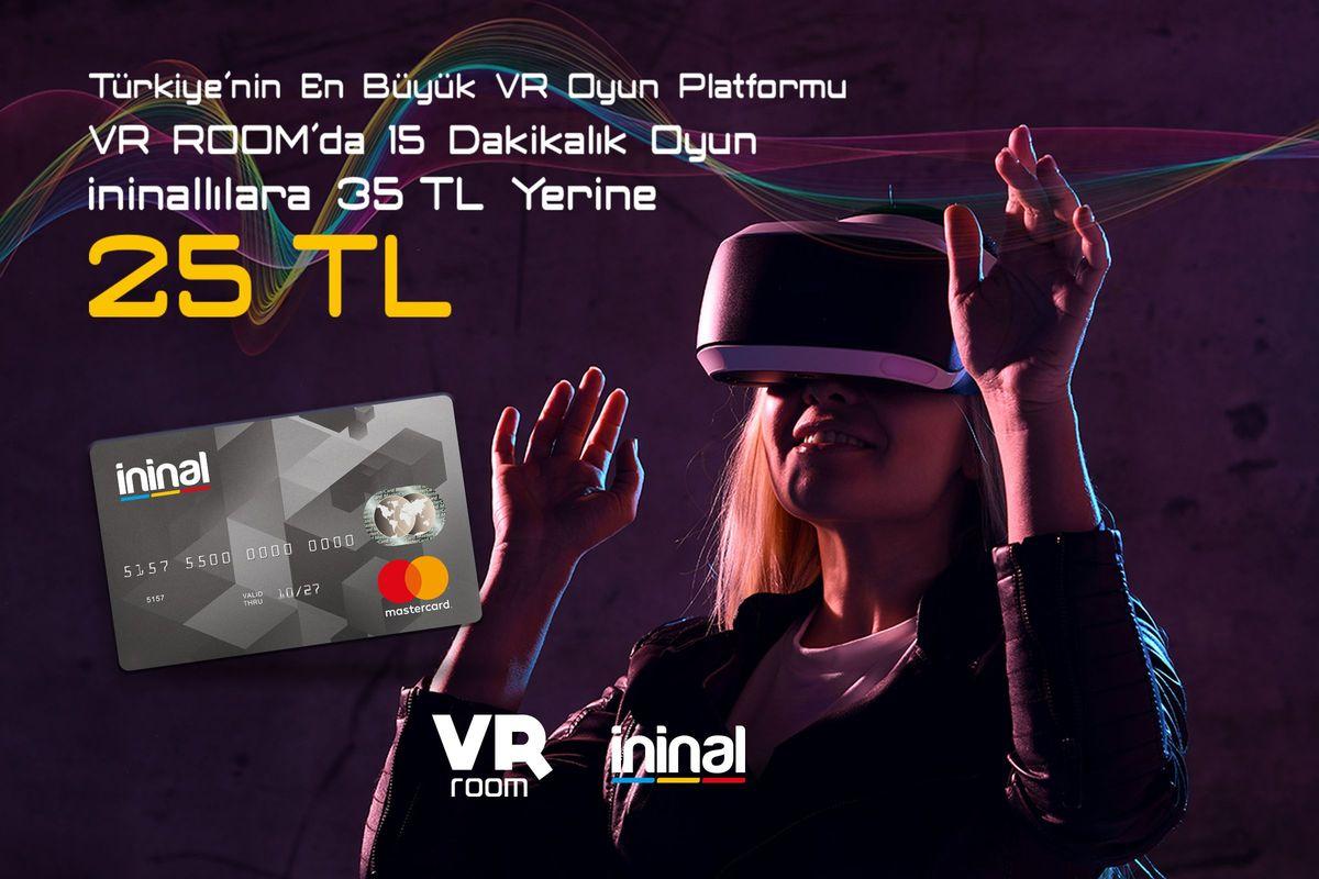 Ininal ile VR Room İndirimi!