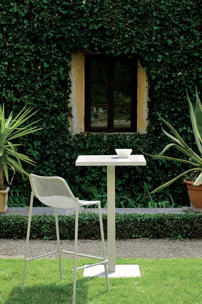 Lettino impilabile da giardino esterno in acciaio for Lettino allungabile