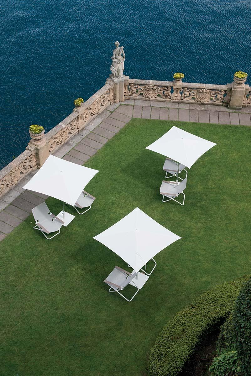 Ombrellone 3x3 da giardino esterno in alluminio for Ombrellone da giardino emu prezzi