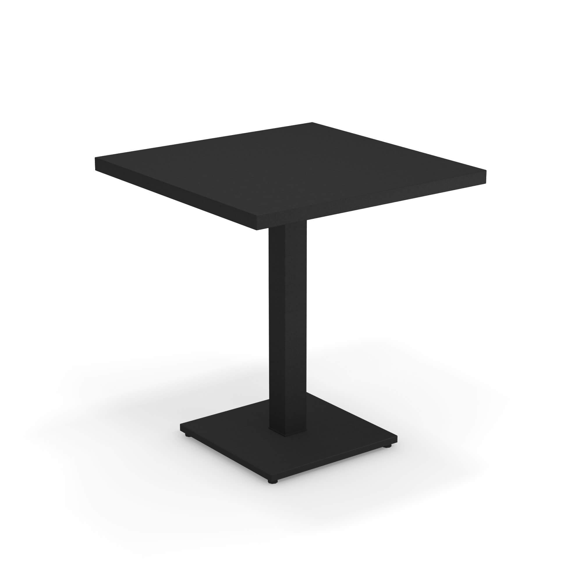 Tavolo Quadrato Allungabile Da Esterno.Tavolo Quadrato 70x70 Da Giardino Esterno In Acciaio