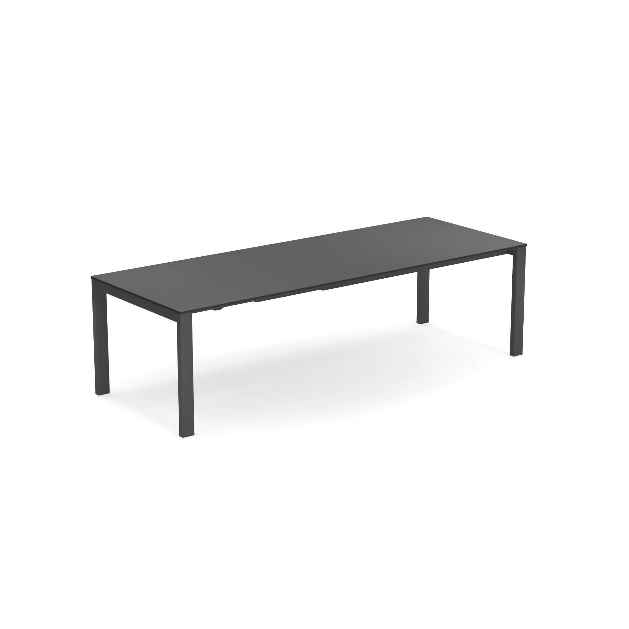 Tavolo Rotondo Allungabile Da Giardino.Tavolo Allungabile Piano In Hpl 160 54 54x100 Da Giardino Esterno
