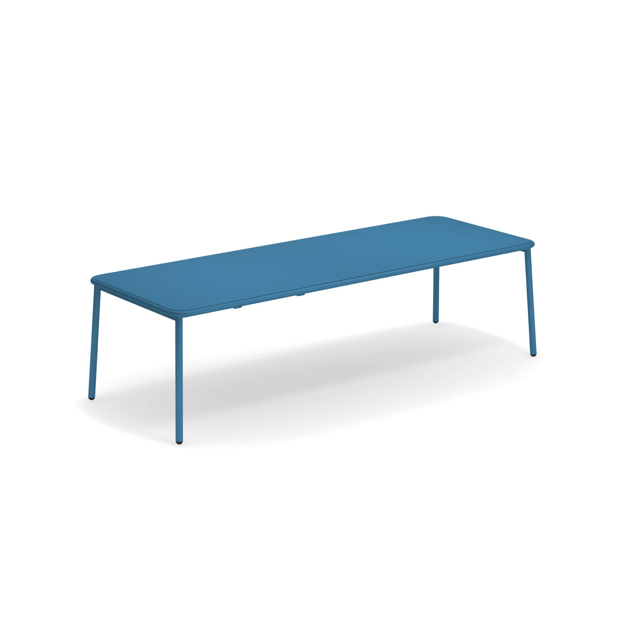 Table extensible plateau en aluminium pour jardin / extérieur en ...