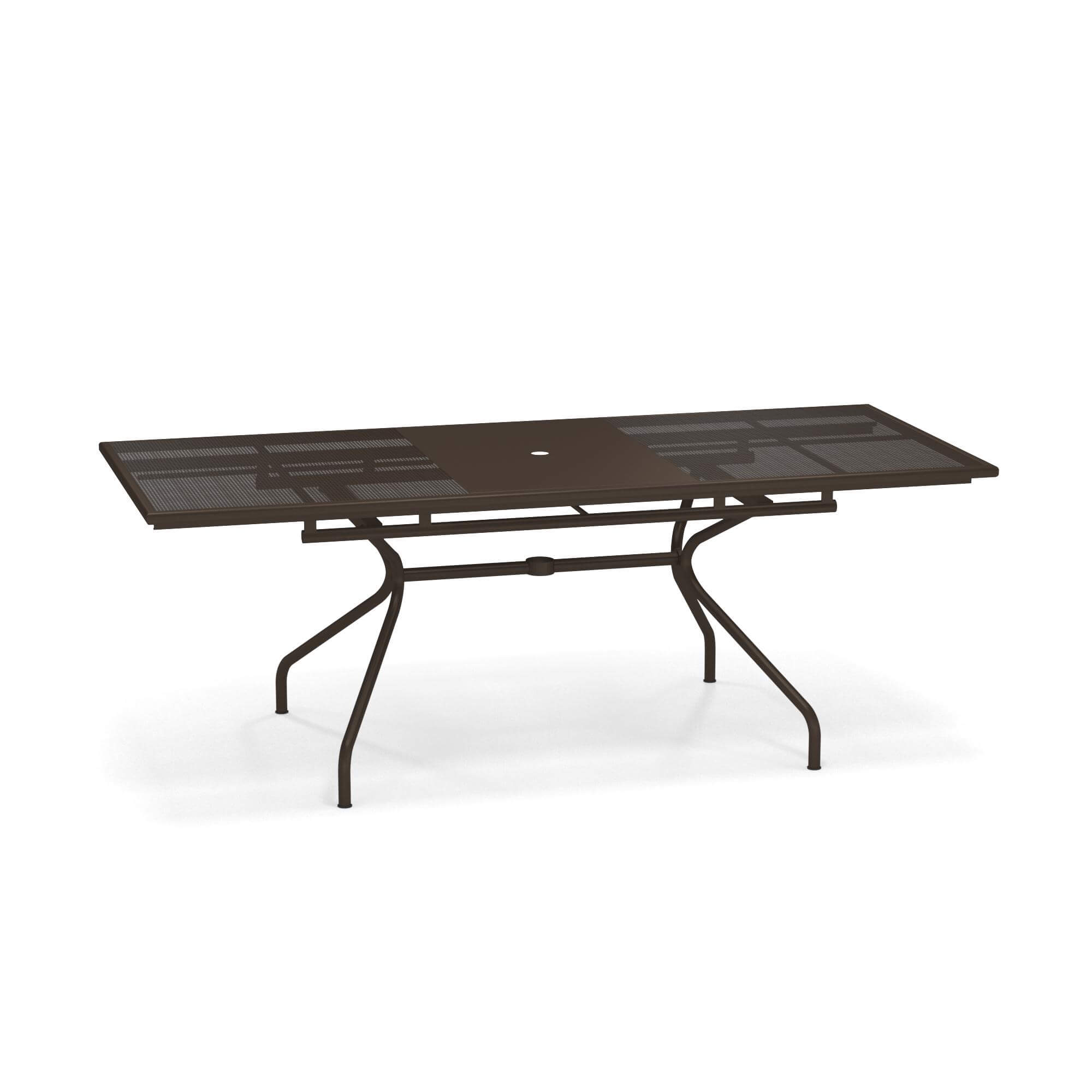 Tavolo Allungabile 160 50x90 Da Giardino Esterno In Acciaio Collezione Athena Emu