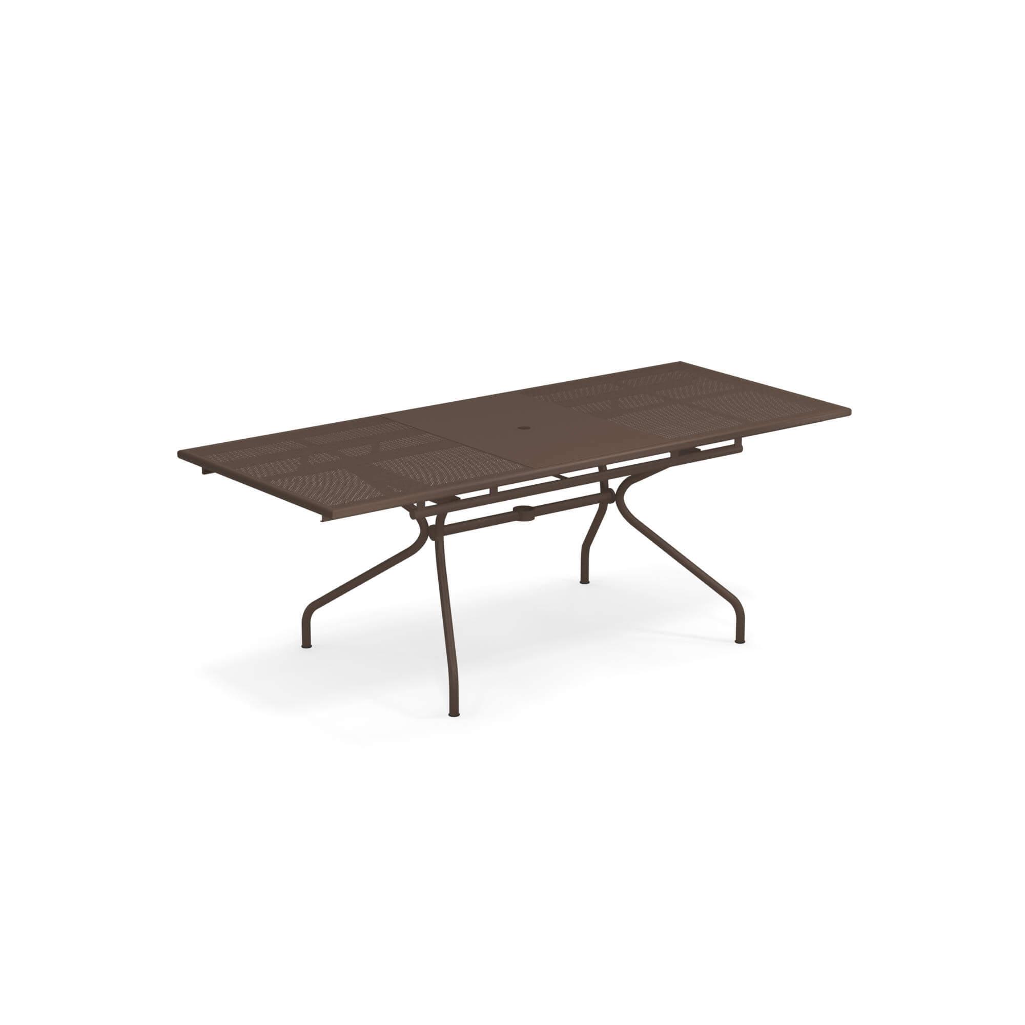 Tavoli Da Giardino Emu Prezzi.Tavolo Allungabile 160 50x90 Da Giardino Esterno In