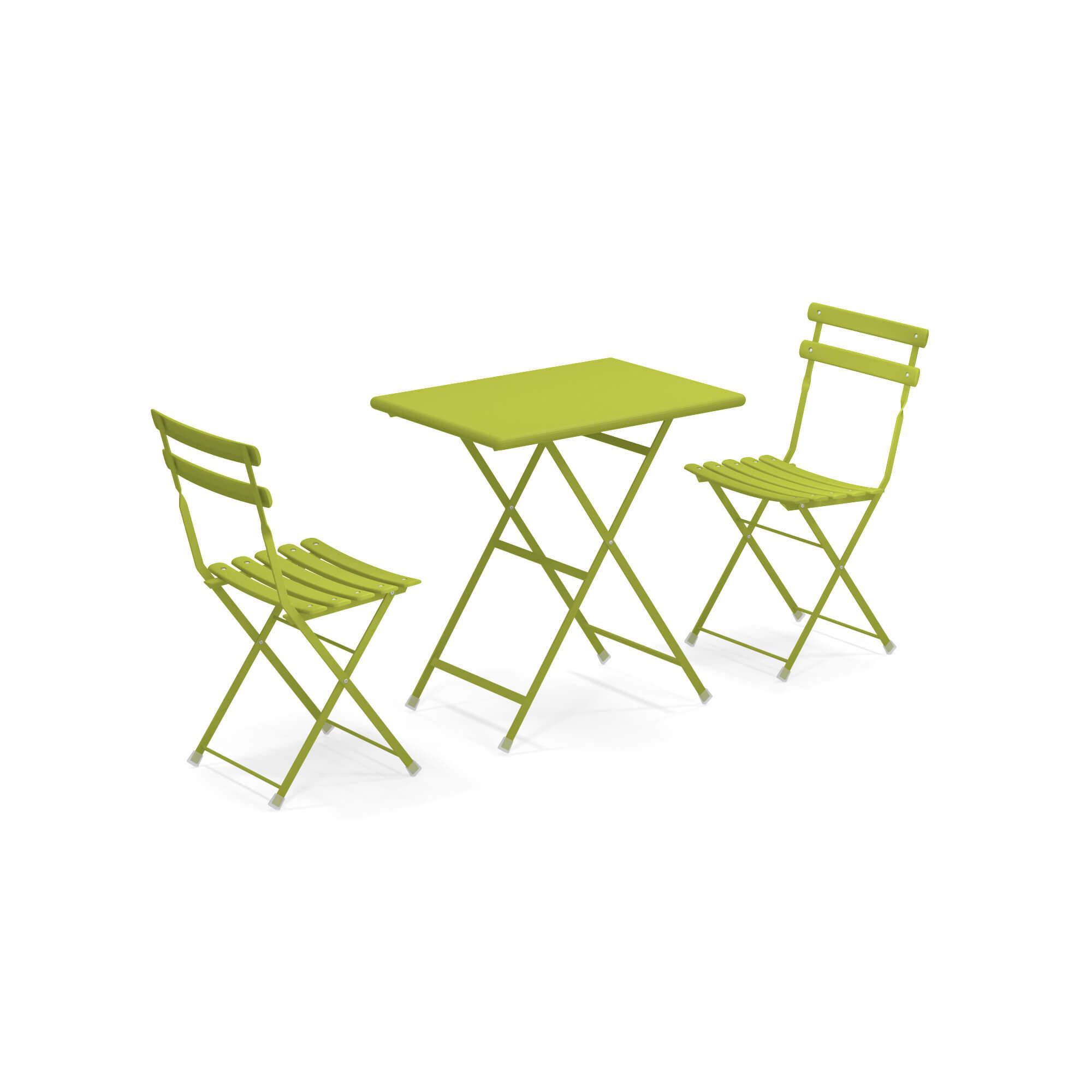 Tavolo Da Giardino Pieghevole Con Sedie.Set 2 Sedie Pieghevoli 1 Tavolo Pieghevole Da Giardino Esterno