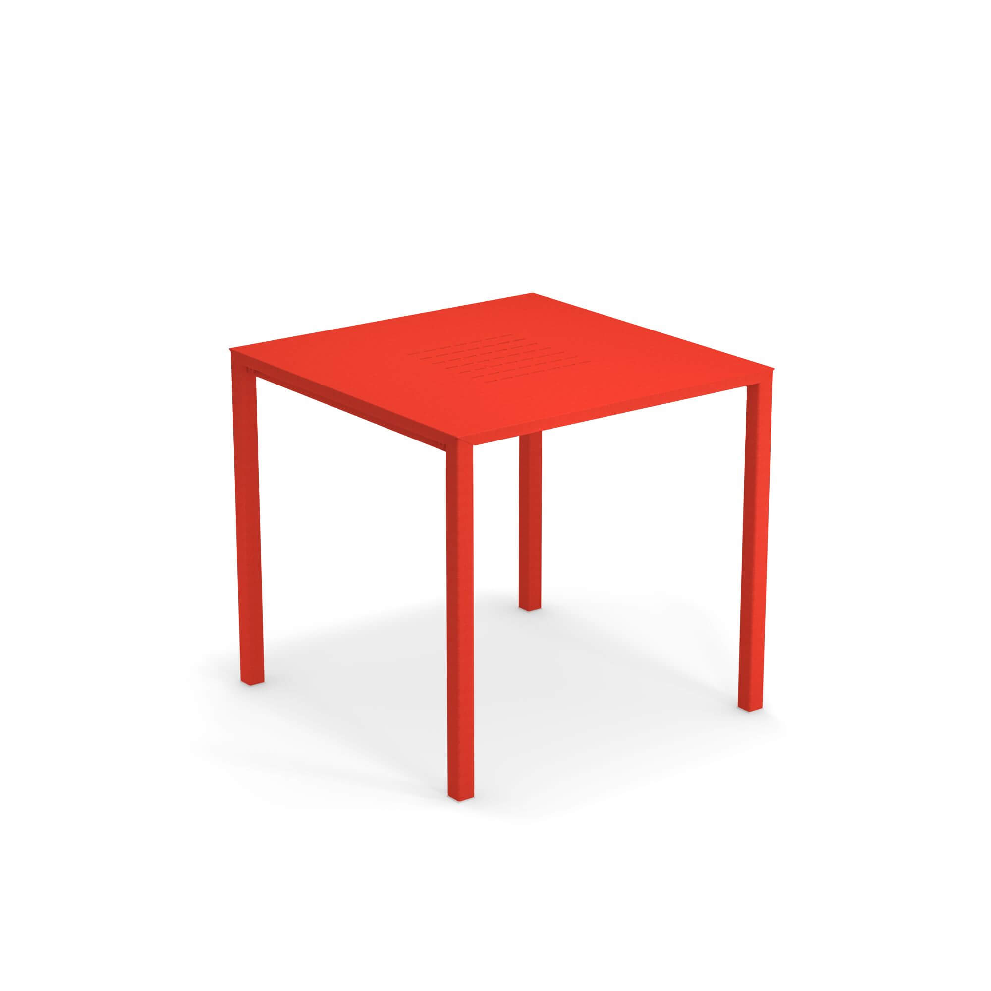 Tavoli Per Esterno Emu.Tavolo Quadrato Impilabile 80x80 Da Giardino Esterno In