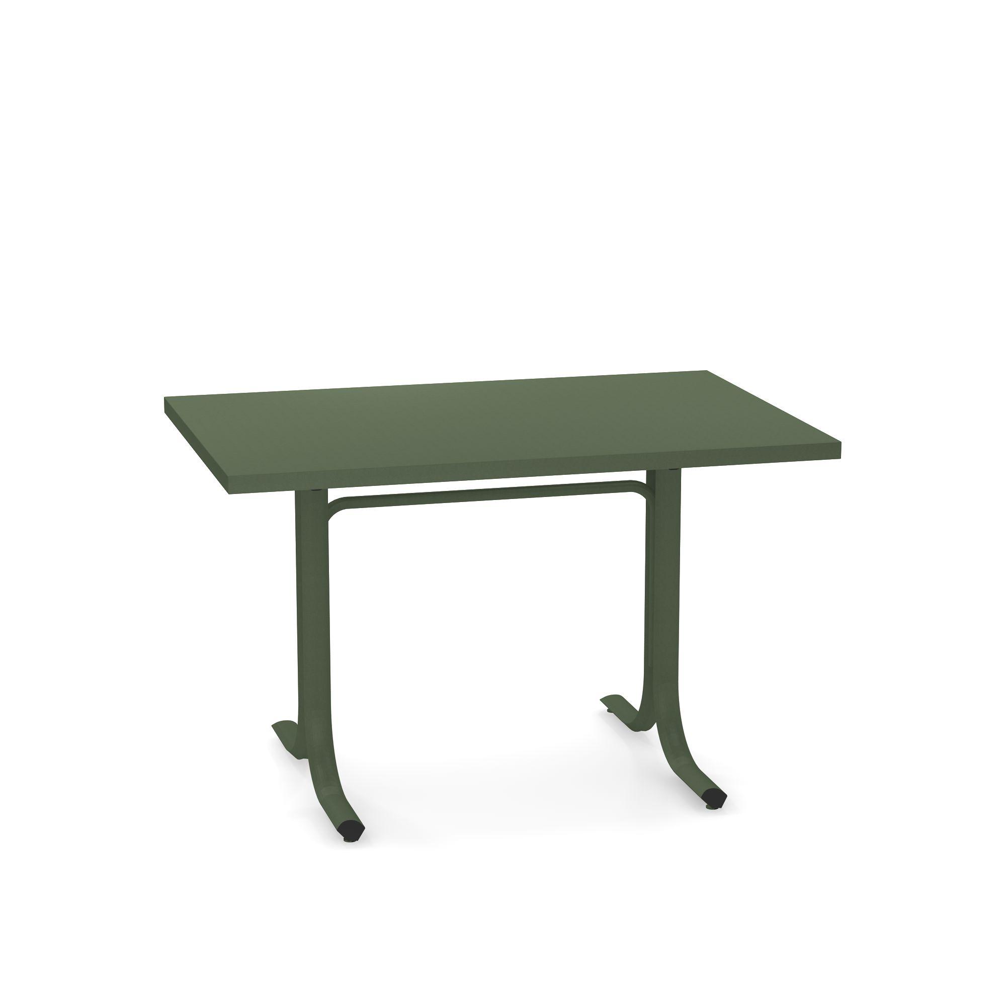 Tavolo abbattibile bordo squadrato 80x120 da giardino for Cuscini 80x120