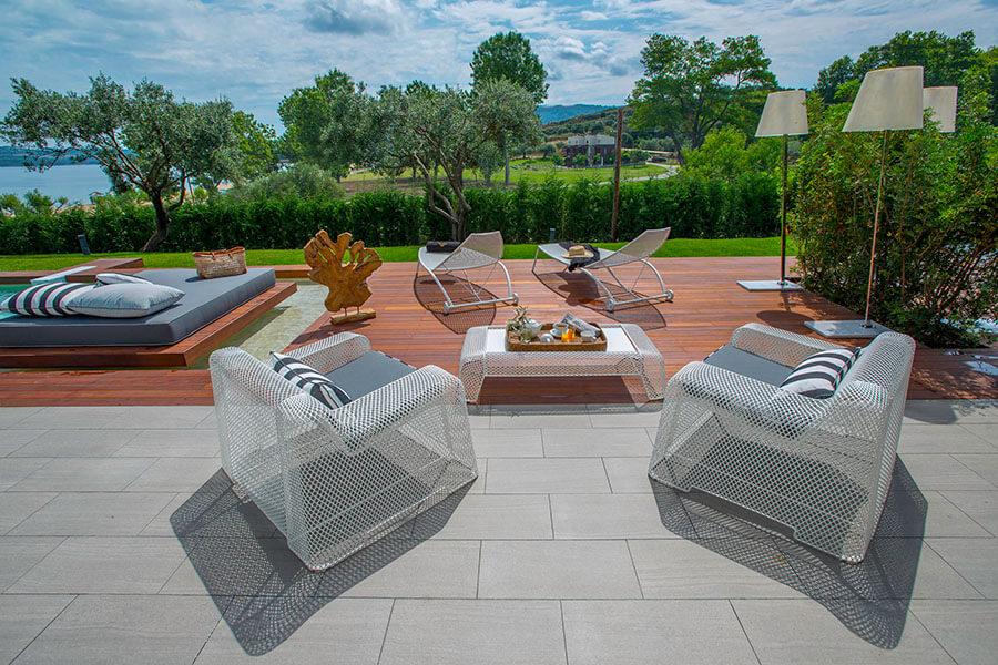 EMU Outdoor Furniture Arredamento Avaton Luxury Hotel Greece