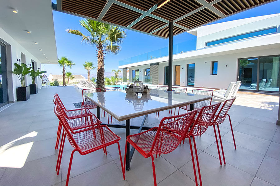 EMU Outdoor Furniture Arredamento Villa Lydia Greece