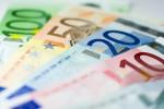 Geldscheine in Fächerform
