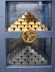 Gold und Silber im Tresor