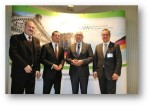 AfW Vorstand mit Staatssekretär Gerd Billen
