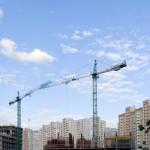 Bau von Apartments