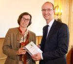Laudatorin Stephanie von Keudell, Ralf Cont-Vorstand PROJECT Investment AG