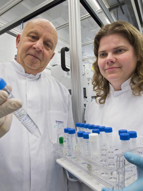 Rob Willemsen in lab
