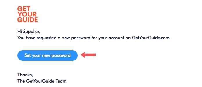 I forgot my password  What should I do? : Supplier Support