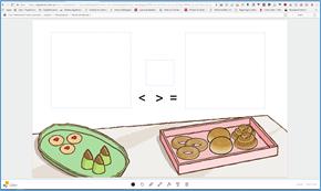 Skärmdump av lärarwebb med en laboration utan figurer utlagda