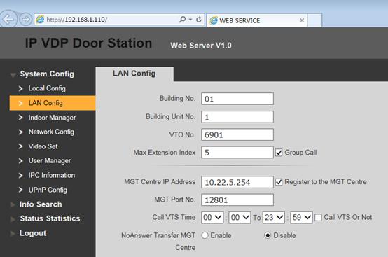 3  How to configure: 1 VTO + m VTH : Dahua Technology Support