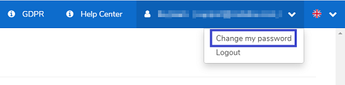 Change CodaBox password