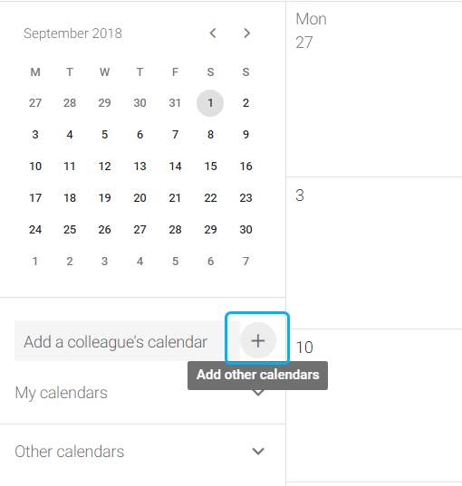 Add CiviHR calendar feed to Google
