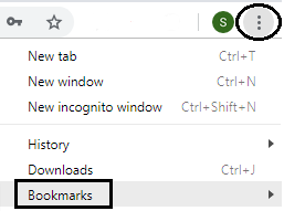 How do I manage my Home page and Bookmarks in Google Chrome