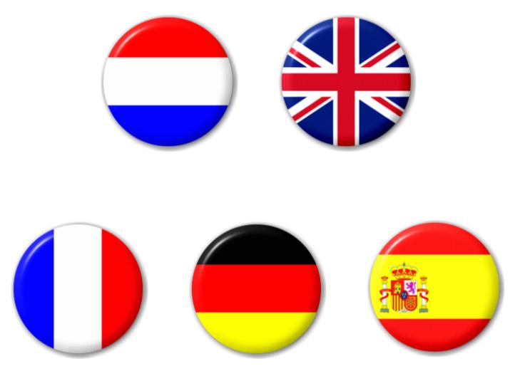 Beschikbare talen