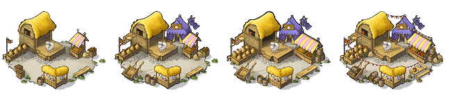 Marketplace building levels