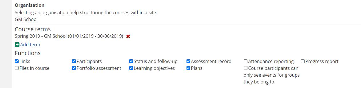 screenshot enabling Plans