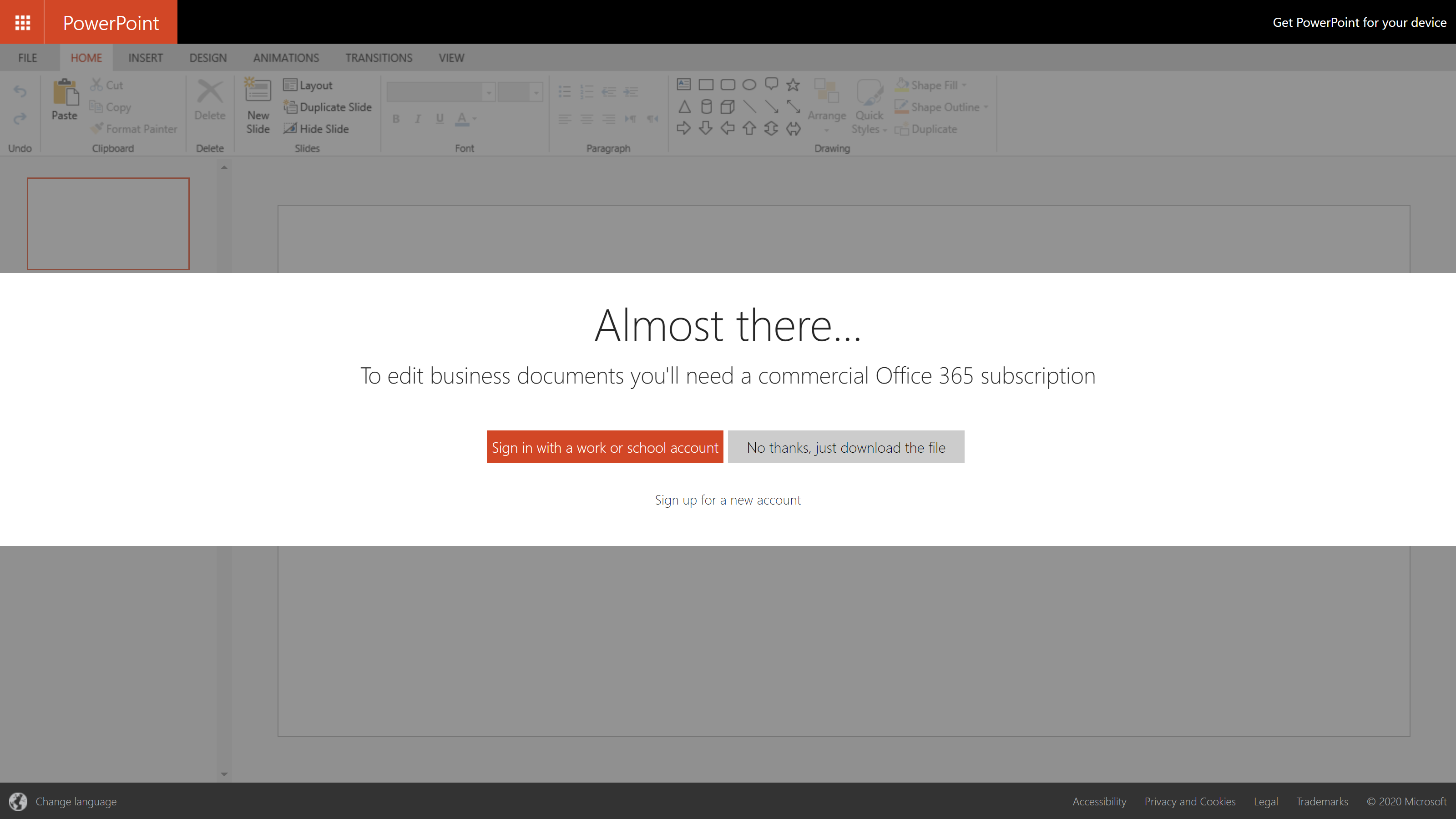 screenshot no need to sign in to view microsoft documents
