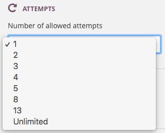 test attempts screenshot