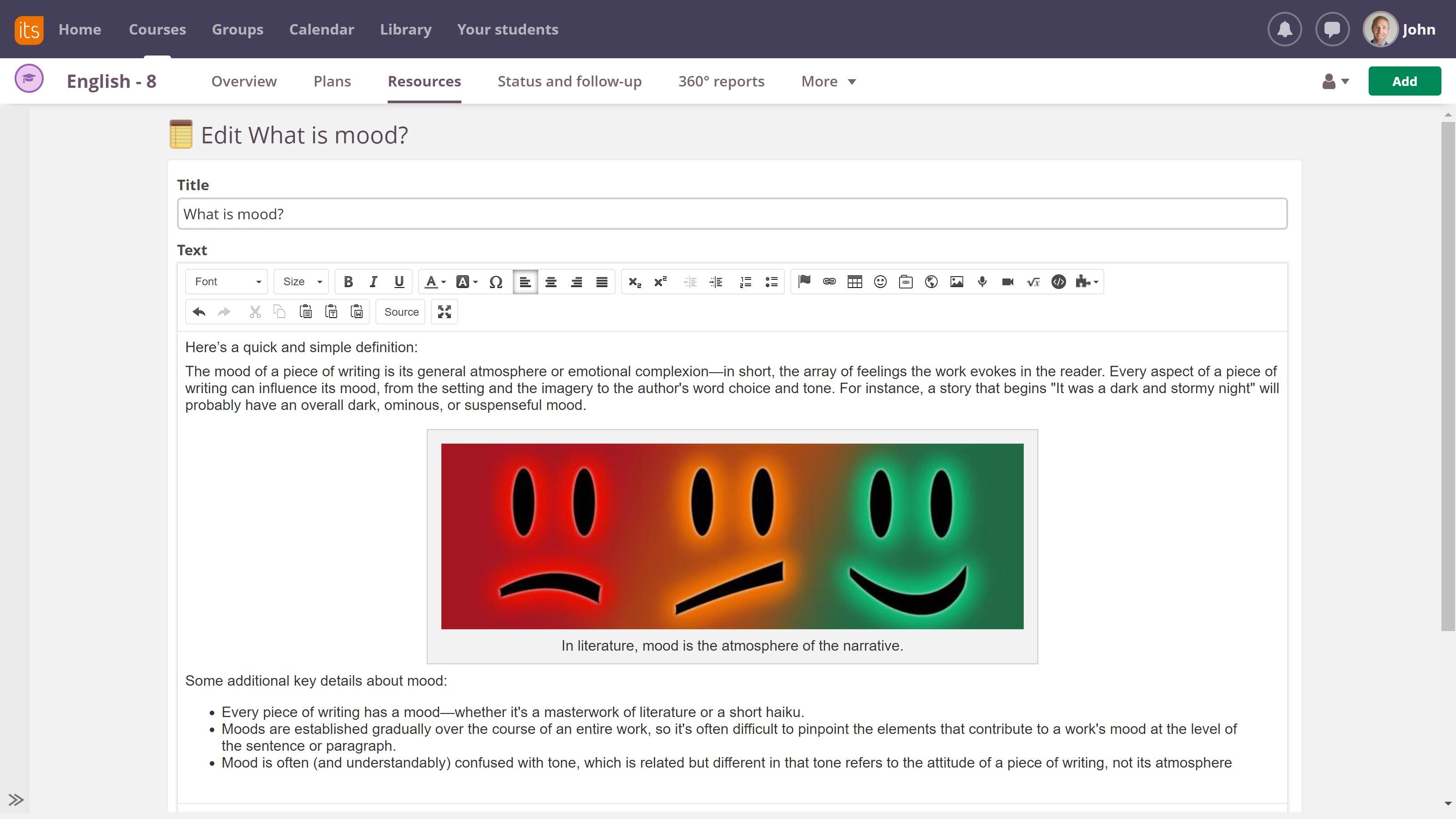 bigger editing space screenshot