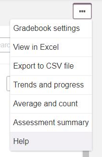 screenshot gradebook settings