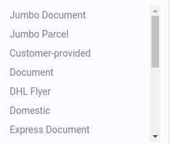 Избор на опция за пакетиране