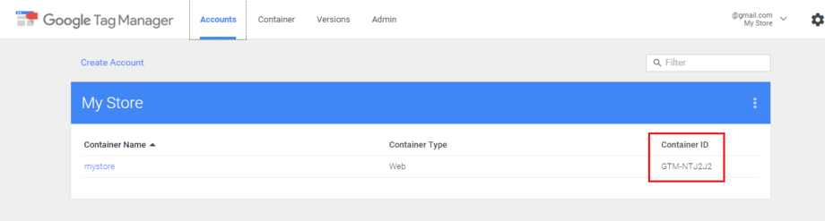 Свързване на Google Tag Manager с CloudCart