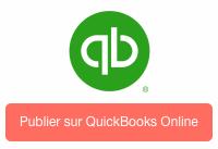 Synchroniser produit avec QuickBooks