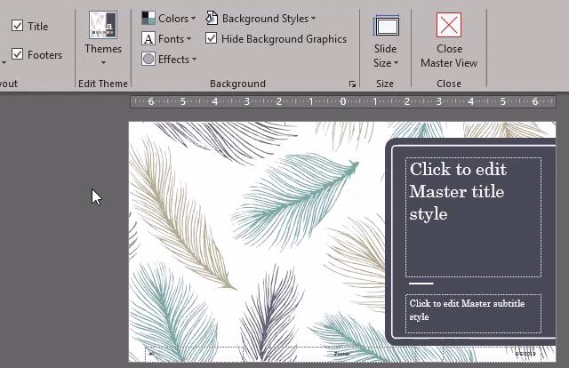 Slide Master GIF