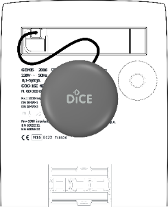 D Energy is installed on the metrological LED meters and sends the information to DiCE Smart