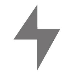 Tesla Display lightning bolt icon