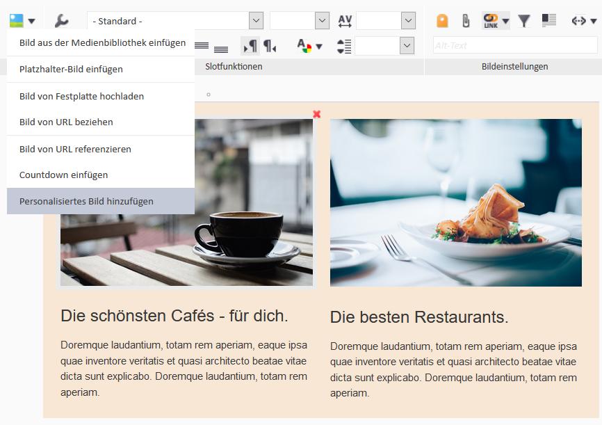 Image Personalization_1 - Widgets