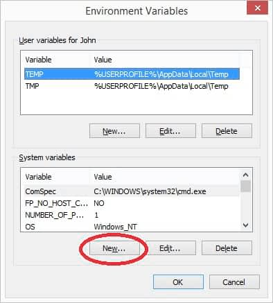 Display Alerts via Environment variable