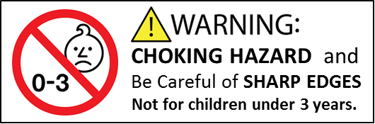 warning labels for toys