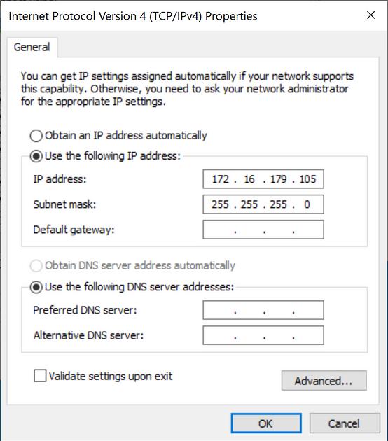 Windows metadata NIC Off Prem use
