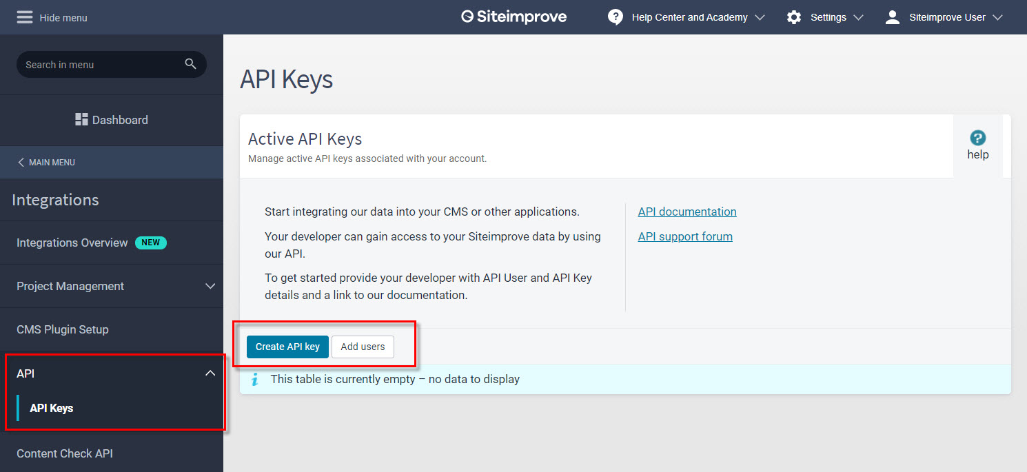 API_key_configuration_page