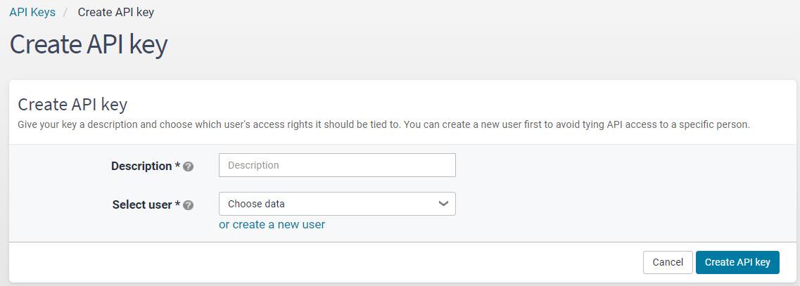 Create_API_setup_page