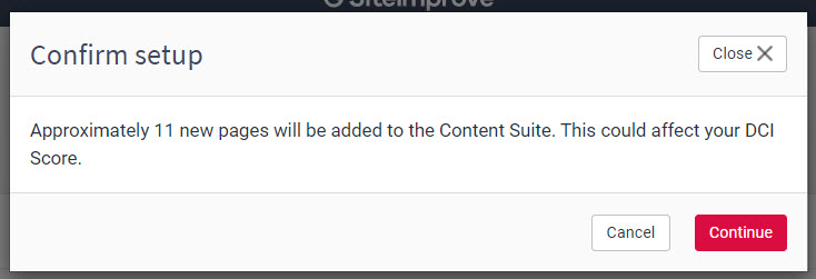 Confirm_setup_pop_up_box_with_continue_button