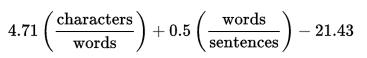 ARI_formula