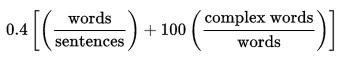 Gunning_fog_formula