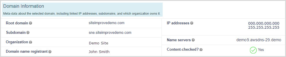 Domain_Information