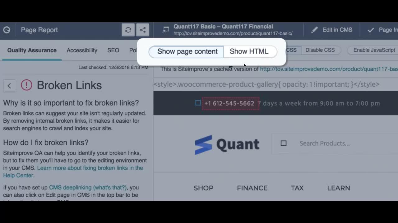 How to fix a broken link video.